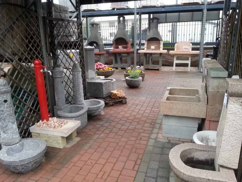 Cossa - BigMat - Fontane e caminetti in esposizione