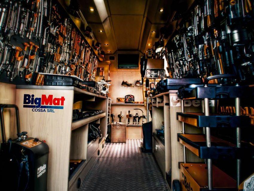 Cossa - BigMat - Tutta l'attrezzistica di un Van