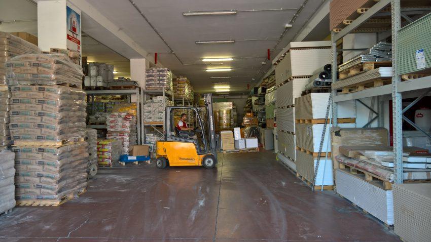 Edilcommercio, magazzino