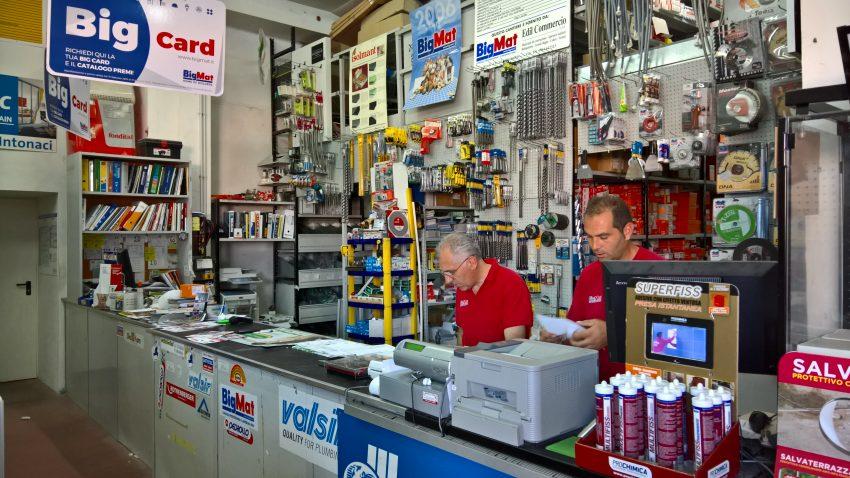 Edilcommercio, punto vendita