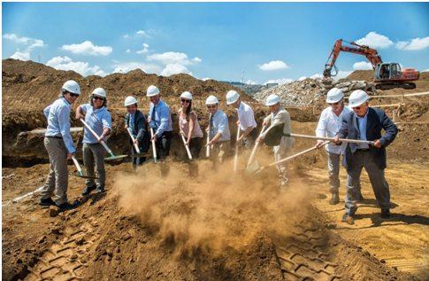 Mewa, inaugurato il cantiere della nuova piattaforma logistica