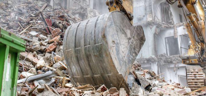 Demolizione selettiva per un'economia circolare delle costruzioni