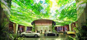 Arriva il primo hôtel con foresta pluviale interna