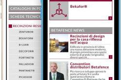 Betafence conquista i distributori con una App