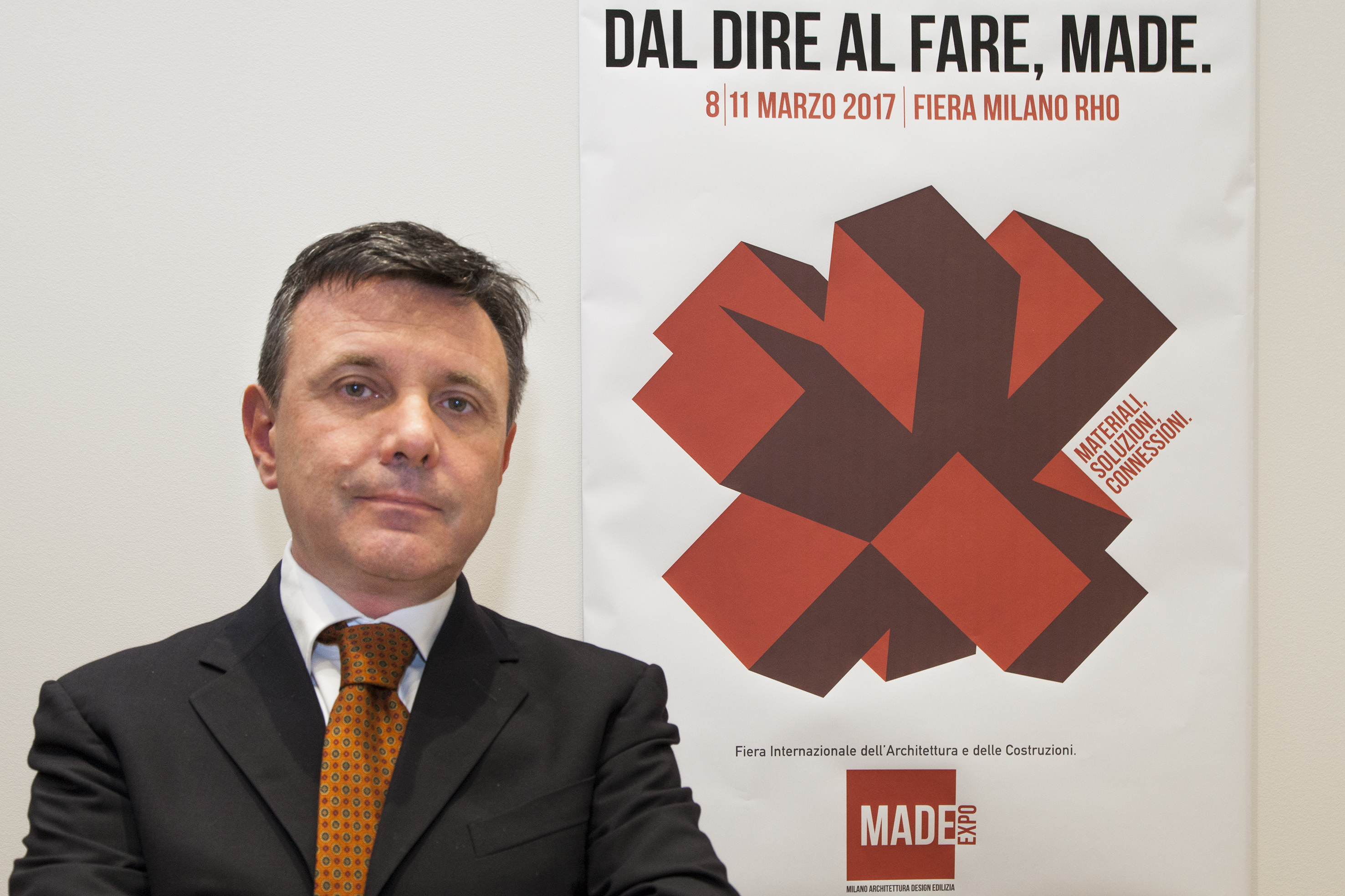 Giovanni Grassi, direttore fiera Made Expo
