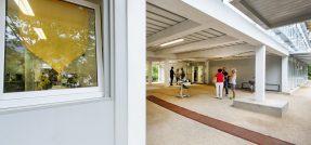 La scuola (in container) più grande d'Europa è in Alto Adige