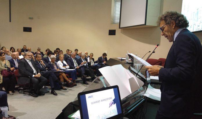 Gerardo Biancofiore al convegno Ance