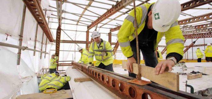 Formedil: cala ancora l'occupazione nelle costruzioni