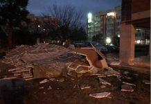 Il crollo del cappotto a Bari