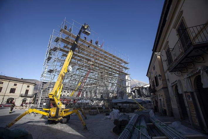 Le conseguenze del terremoto in Umbria