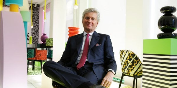 Claudio Luti, nuovo presidente Salone del mobile