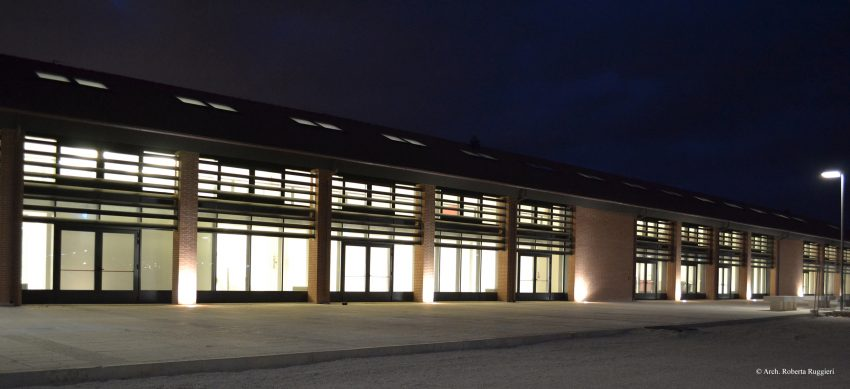 prospetto est - 3 - illuminazione esterna C