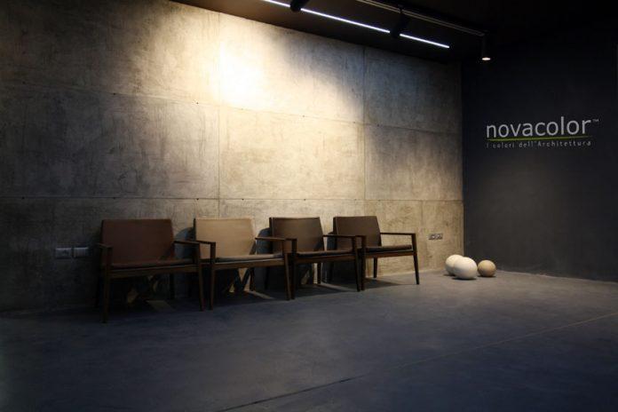 Interno della sede dio Novacolor