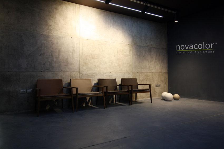 Interno della sede di Novacolor