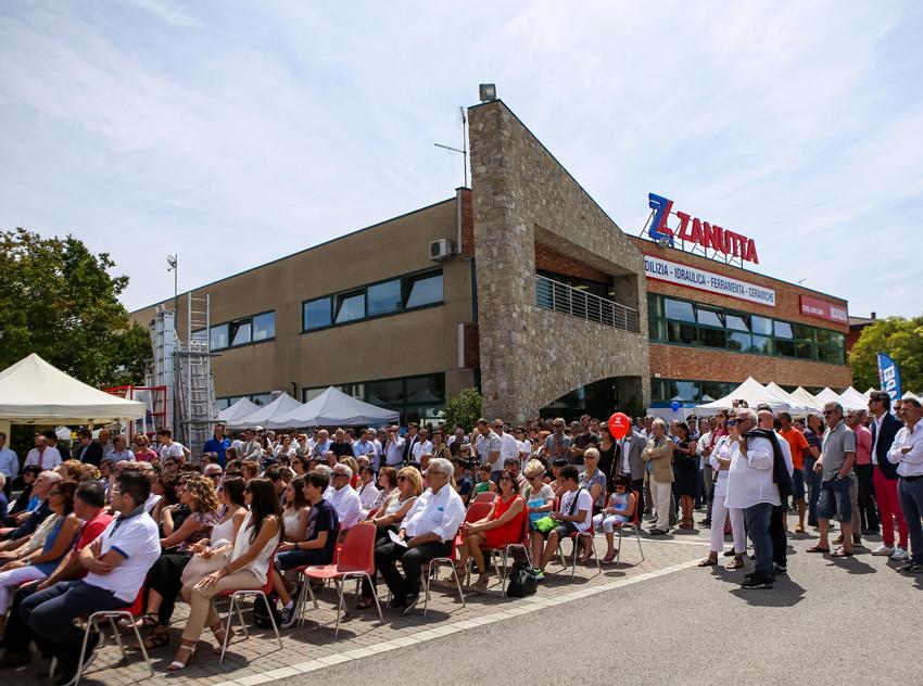 La sede della Zanutta a Cervignano