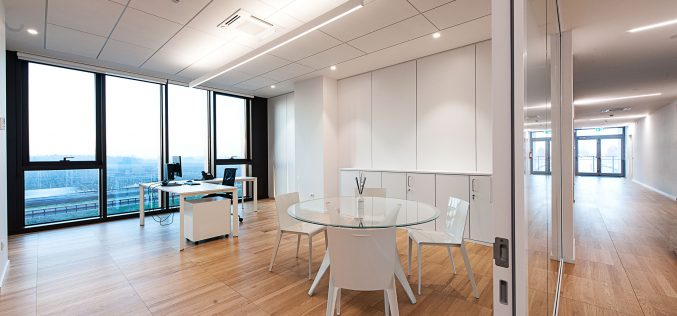 Armstrong Building Products firma il nuovo headquarters Twinset