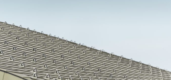 Prefa: l'architettura è in alluminio. A scaglie