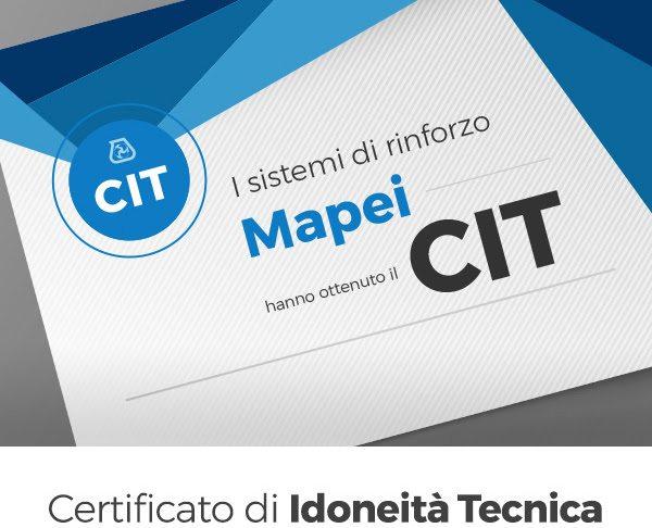 Mapei e CIT