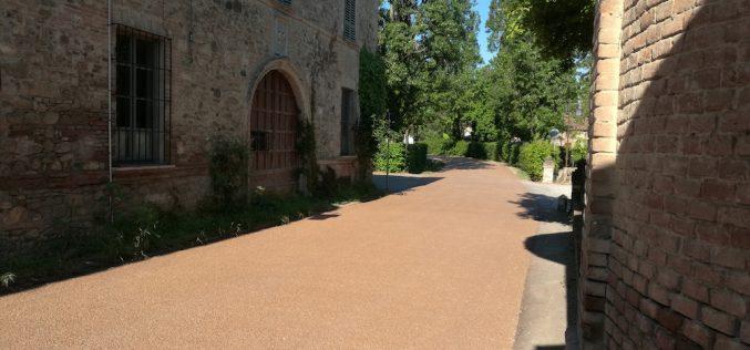 Betonrossi protagonista a Grazzano Visconti con il calcestruzzo drenante Drainbeton