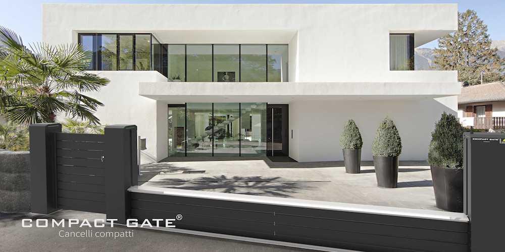 COMPACT GATE® Cancelli automatici compatti per edilizia