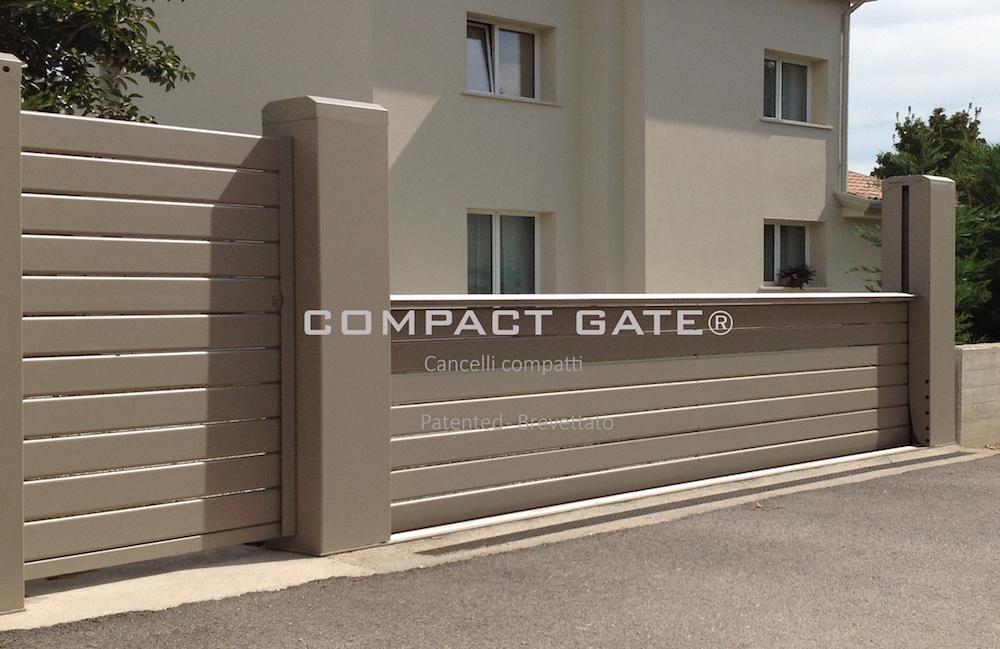 COMPACT GATE® Cancelli automatici scorrevoli compatti 87