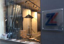 esterno dello store Zanutta a Parigi