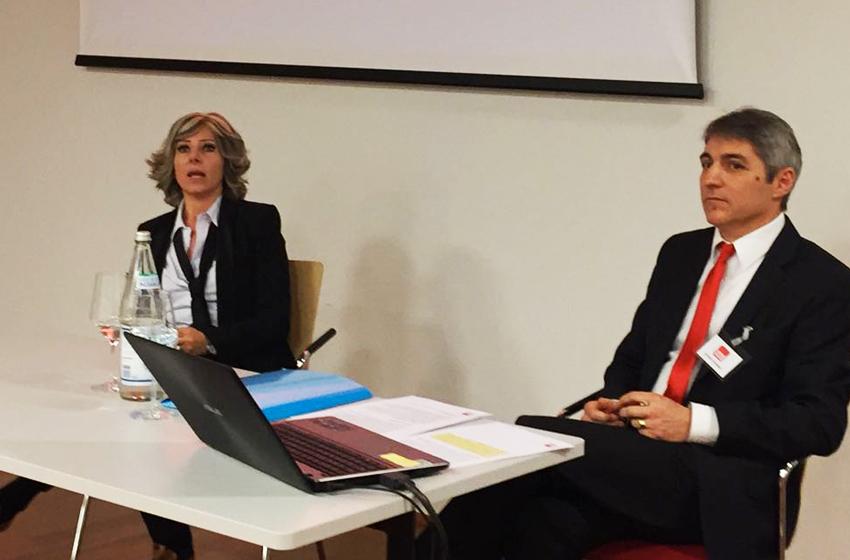 Laura Galli assieme a Günther Pallweber