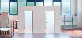 Porta in vetro: Eclisse presenta Syntesis
