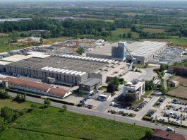 La sede della Magnetti, a a Carvico (Bergamo)