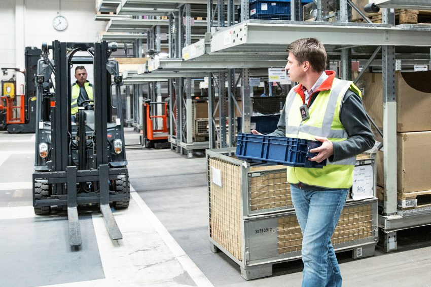 Gestione magazzino: Linde Safety Guard