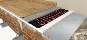 Knauf Silent Pad Slim, il nuovo tappetino per l'isolamento acustico a basso spessore