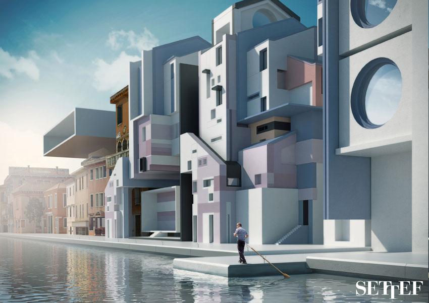 Progetto Urbanocromie, Piazza