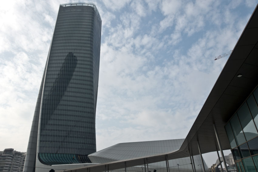 La torre Hadid a CityLife, Milano