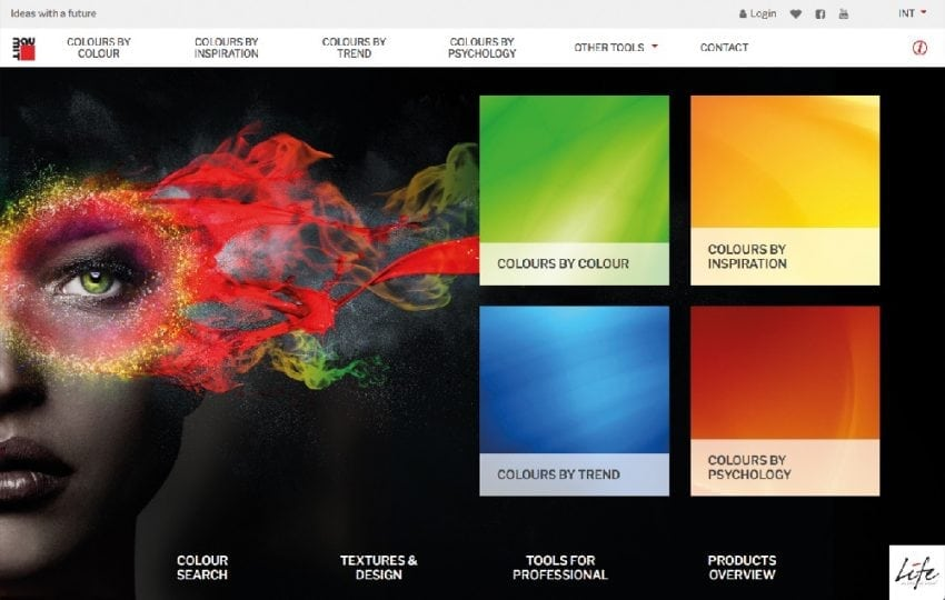 baumit life portale web colore homepage