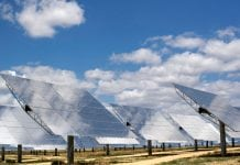 Un impianto Concentrated Solar Power