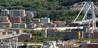 Il Ponte Morandi, a Genova