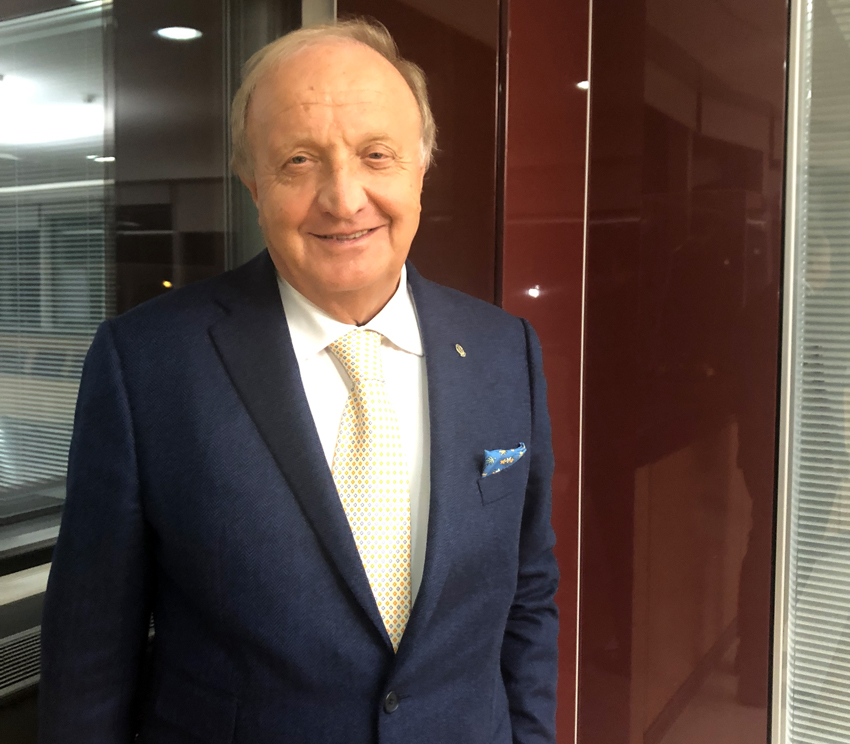 Luciano Mazzer, presidente del Gruppo Iwis