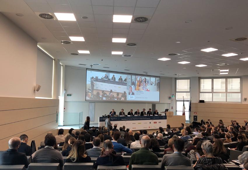 La presentazione della ricerca al Politecnico di Milano