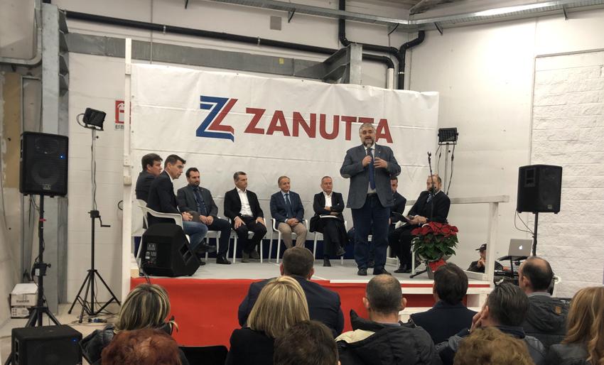 L'inaugurazione del punto vendita Zanutta di Oderzo (Treviso)