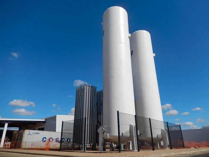 Impianto per l'imbottigliamento della Coca Cola in Mozambico realizzato da Cmc
