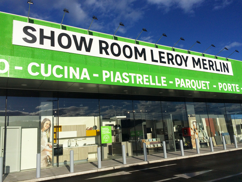 Leroy Merlin, lo showroom