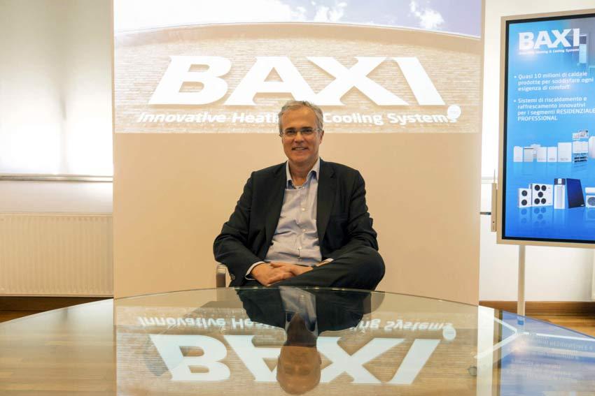 Alberto Favero, direttore generale di Baxi