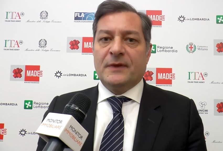 Massimo Buccilli, presidente di Made Expo