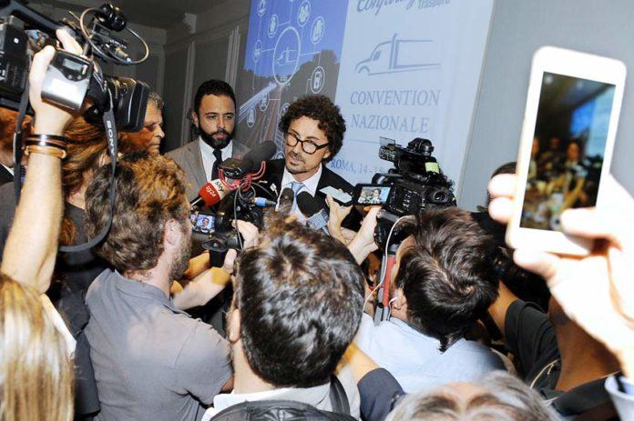 Il ministro alle Infrastrutture, Danilo Toninelli