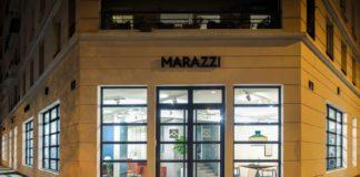 Lo showroom di Marazzi a Lione