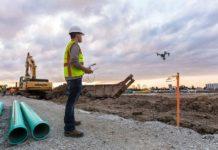 Utilizzo dei droni in cantiere