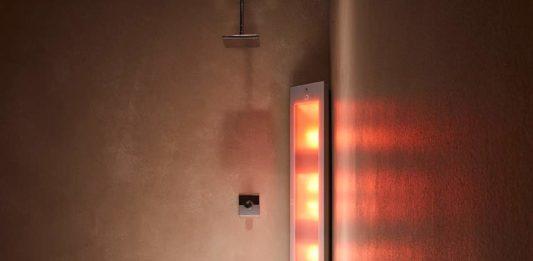 Sunshower in versione combo con raggi infrarossi e Uv