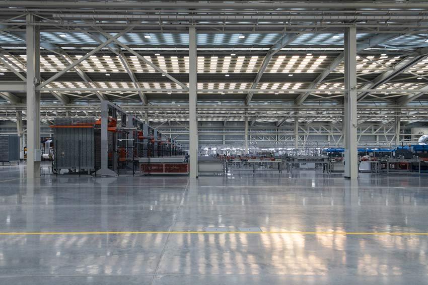 L'impianto di Castellon de la Plana