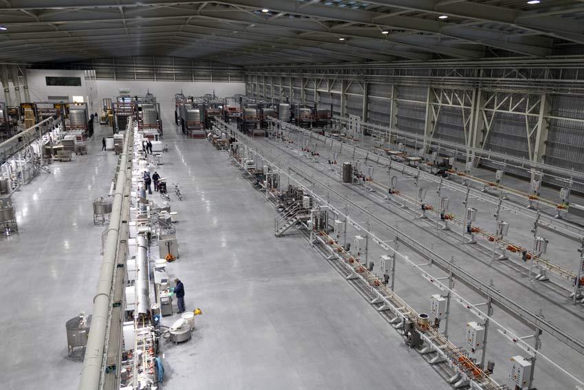 Le piastrelle ceramiche passeranno dai 18 mila metri quadri al giorno a 22.500