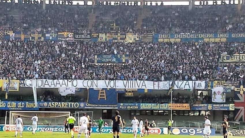 Lo stadio di Bergamo
